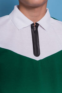 Harry Polo Neck & Short Set - Green
