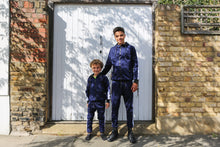 Load image into Gallery viewer, Faded Stripe Trackie - Navy