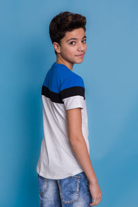 Jack Tshirt - Blue/White