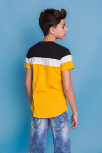 Jack Tshirt - Black/Yellow
