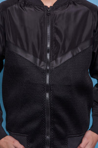 Mesh Lighweight Jacket - Black