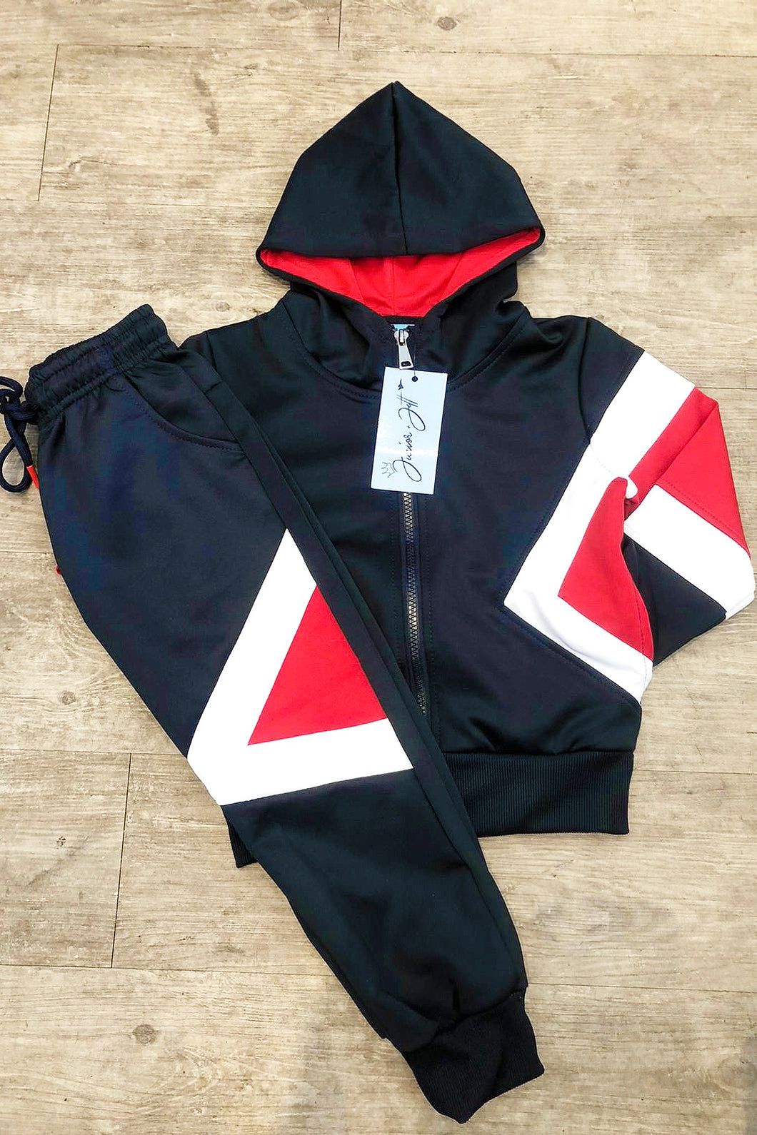 Charlie Trackie- Red&Navy