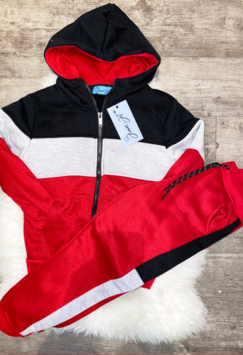 James Tracksuit - Red