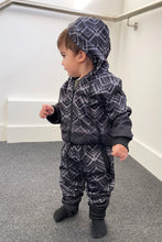 Load image into Gallery viewer, Faded Zig Zag Trackie - Black