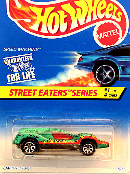 Speed Machine (1996 Hot Wheels - Street Eaters Series #1/4)