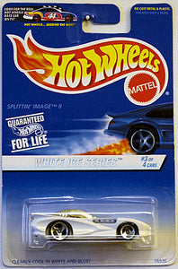 Splittin' Image II (1997 Hot Wheels - White Ice Series #3/4) Collector #563