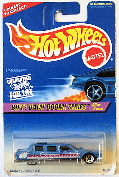 Limozeen (1997 Hot Wheels Biff! Bam! Boom! Series #2/4) Scratch & Dent