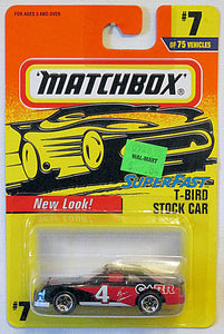 T-Bird Stock Car (1997 Matchbox Mainline #7/75) Superfast