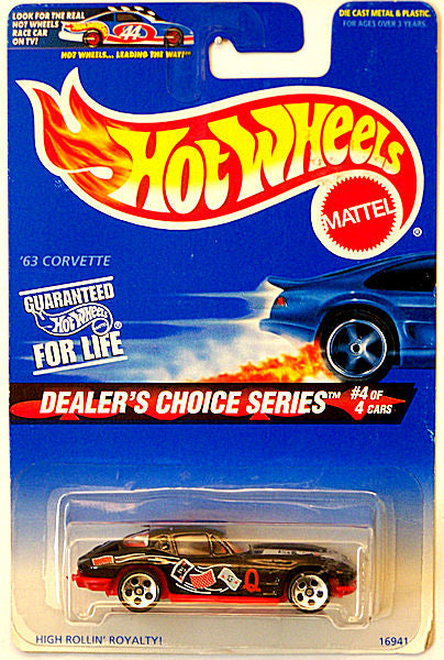 '63 Corvette (1997 Hot Wheels - Dealer's Choice Series #4/4)