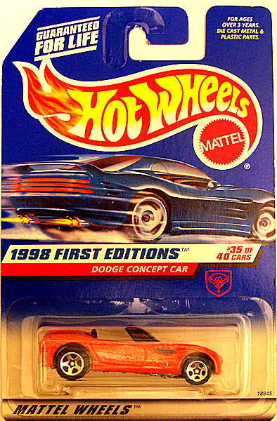Dodge Concept Car (1998 Hot Wheels - First Editions #35/40)