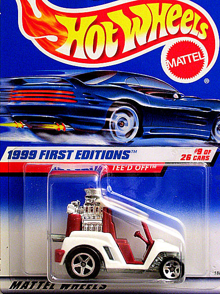 Tee'd Off (1999 Hot Wheels - First Editions #9/26) Scratch & Dent