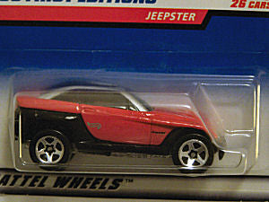 Jeepster (1999 Hot Wheels - First Editions #17/26) Scratch & Dent