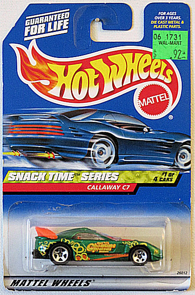Callaway C7 (2000 Hot Wheels - Snack Time Series #1/4) Scratch & Dent