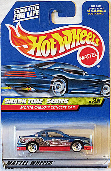 Monte Carlo Concept Car (2000 Hot Wheels - Snack Time Series #3/4) Scratch & Dent