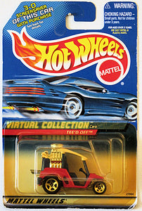 Tee'd Off (2000 Hot Wheels Virtual Collection #117) Scratch & Dent