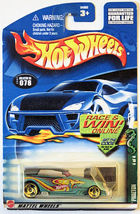 Phaeton (2002 Hot Wheels - Cold Blooded Series #4/4) Scratch & Dent