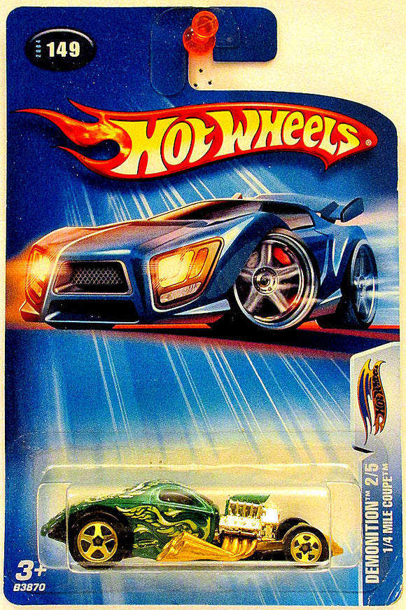 1/4 Mile Coupe (2004 Hot Wheels Segment Series #149 - Demonition #2/5) scratch & dent