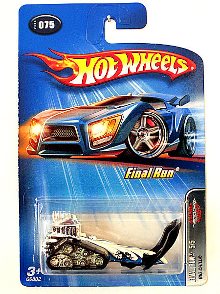 Big Chill (2005 Hot Wheels - Final Run #5/5) Scratch & Dent