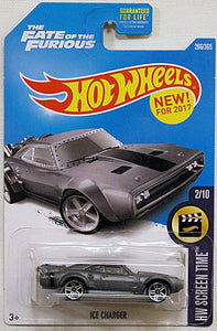 Ice Charger (2017 Hot Wheels Mainline - HW Screen Time #2/10) The Fate of the Furious NEW! for 2017