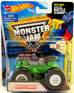 Grave Digger (2015 Hot Wheels Monster Jams - Battle Slammer Series #10