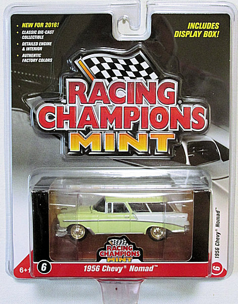 1956 Chevy Nomad - Gold Strike - CHASE (2016 Racing Champions Mint #6)