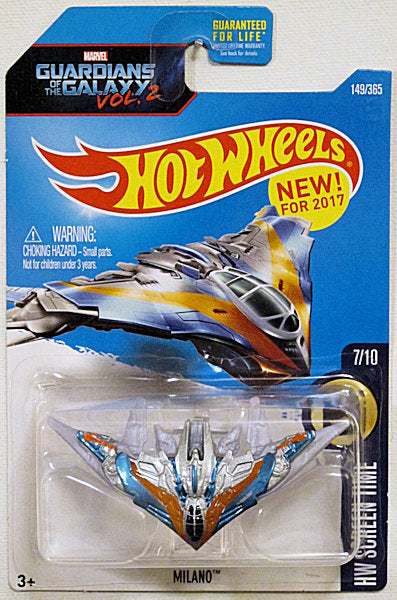 Milano (2017 Hot Wheels Mainline - HW Sceen Time #7/10) Guardians of the Galaxy Vol. 2 NEW for 2017!