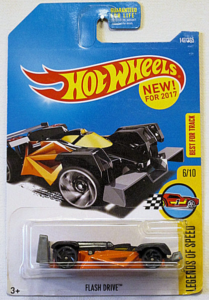 Flash Drive (2017 Hot Wheels Mainline - Legends of Speed #6/10) NEW! for 2017