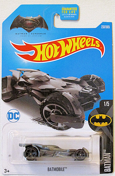 Batmobile (2017 Hot Wheels Mainline #237/365 - Batman #1/5) Batman v Superman
