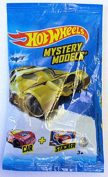 The Dark Knight Tumbler (2017 Hot Wheels Mystery Models Series - #3) Chase