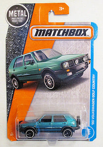 '90 Volkswagen Golf Country (2017 Matchbox Mainline #4/125)