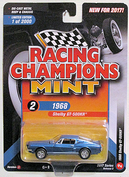 1968 Shelby GT-500KR (2017 Racing Champions Mint - 2017 Series Rel 3 Ver A)