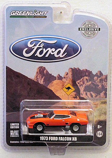 1973 Ford Falcon XB - RED (2018 Greenlight - Hobby Exclusive)