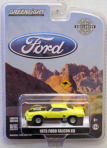 1973 Ford Falcon XB - YELLOW (2018 Greenlight - Hobby Exclusive)