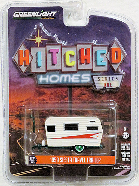 1959 Siesta Travel Trailer (2018 Greenlight - Hitched Homes) CHASE