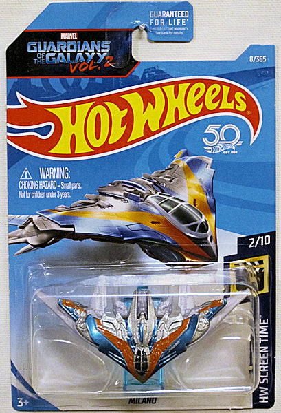 Milano (2018 Hot Wheels Mainline - HW Sceen Time #2/10) Guardians of the Galaxy Vol. 2
