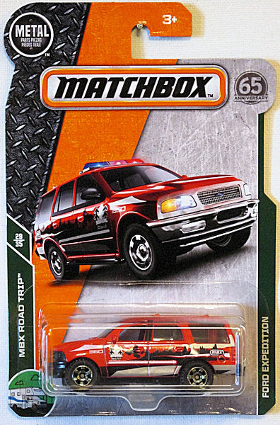 Ford Expedition (2018 Matchbox Mainline #110/125 - MBX Road Trip #29/35)