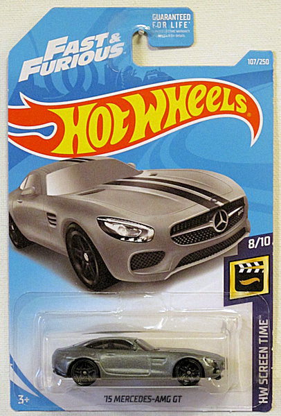 '15 Mercedes-AMG GT (2019 Hot Wheels - HW Screen Time #8/10) Fast & Furious