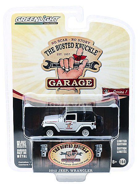 2012 Jeep Wrangler (2019 Greenlight - The Busted Knuckle Garage Series 1)