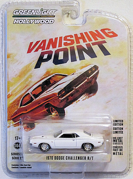 1970 Dodge Challenger R/T (2019 Greenlight - Hollywood Series #22) Vanishing Point