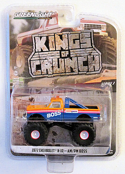 1972 Chevrolet K-10 - AM/PM BOSS (2019 Greenlight - Kings of Crunch Series 3)