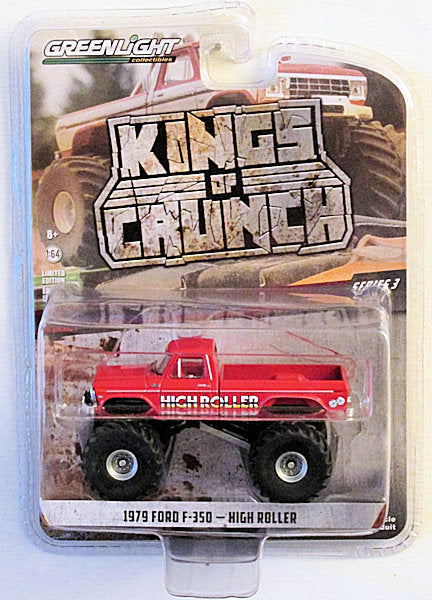 1979 Ford F-350 - High Roller (2019 Greenlight - Kings of Crunch Series 3)