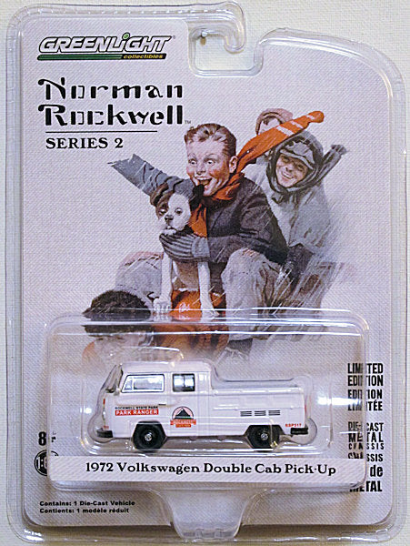 1972 Volkswagen Double Cab Pick-Up (2019 Norman Rockwell Series 2)