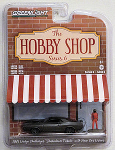 "1971 Dodge Challenger ""Shakedown Tribute"" (2019 Greenlight - The Hobby Shop series 6)"