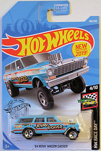 '64 Nova Wagon Gasser (2019 Hot Wheels Mainline - HW Race Day #4/10) NEW for 2019!