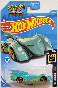 Batmobile (2019 Hot Wheels Mainline #128/250 - HW Screen Time #3/10) Scooby-Doo! & Batman