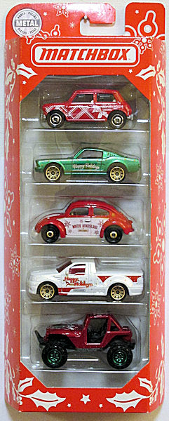 MBX Happy Holidays 5-pack (2019 Matchbox - Happy Holidays)