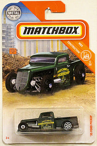 '35 Ford Pickup (2019 Matchbox Mainline #21/100 - MBX Construction #5/20)