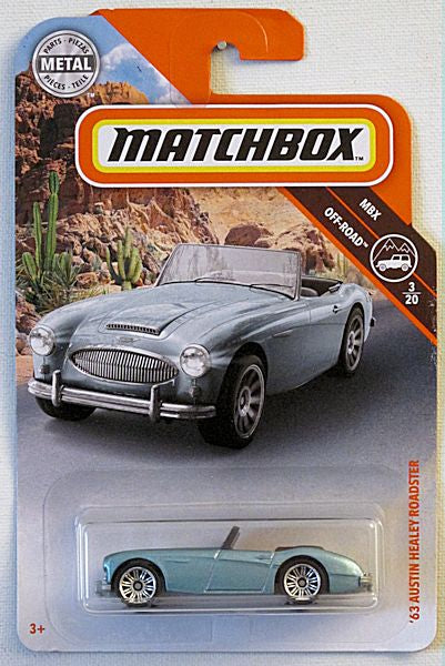 '63 Austin Healey Roadster (2019 Matchbox Mainline 78/100 - MBX City)