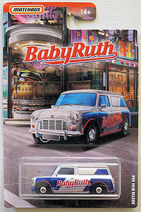 Austin Mini Van (2019 Matchbox - MBX Candy Series) Baby Ruth