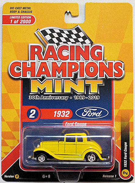 1932 Ford Coupe (2019 Racing Champions - MINT) 30th Anniversary